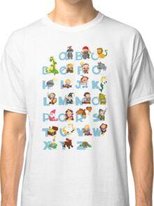 ABC medieval (english) Classic T-Shirt