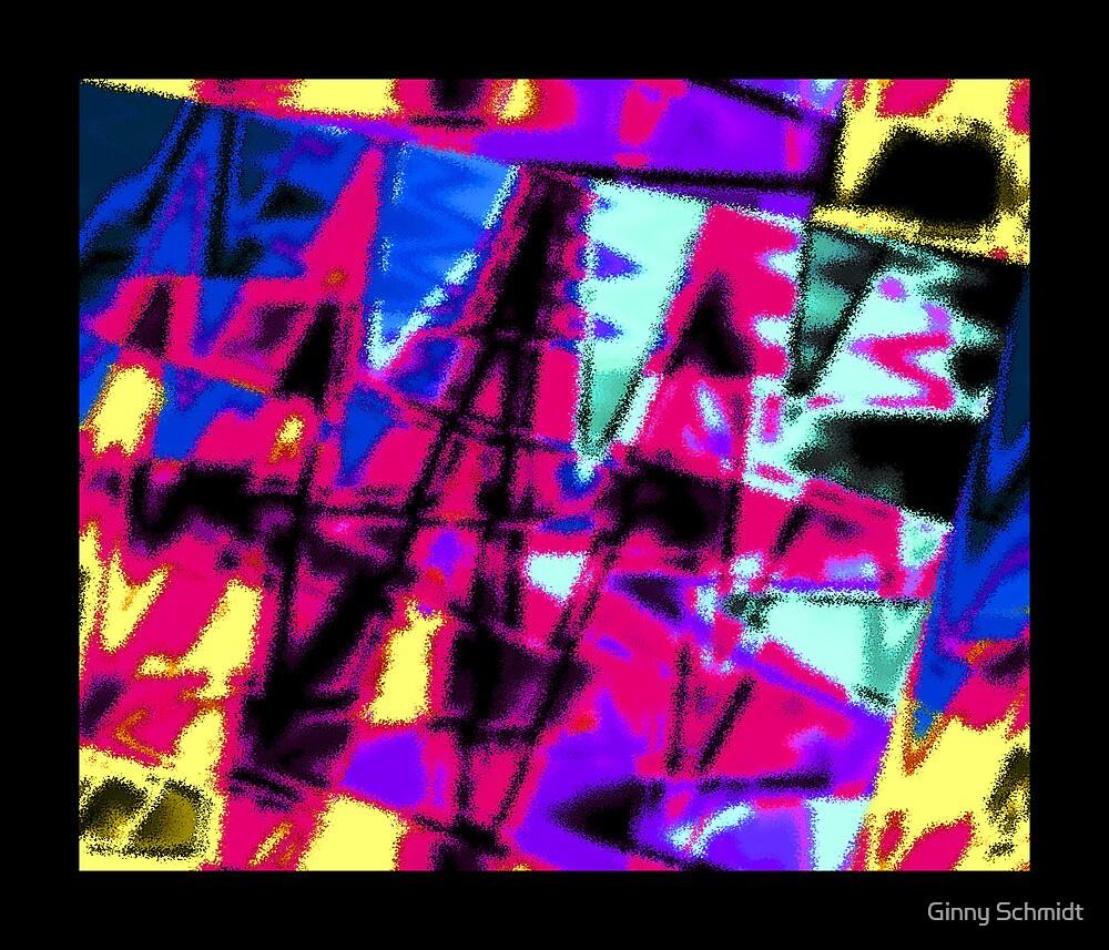 Big, Splashy Abstract by Ginny Schmidt