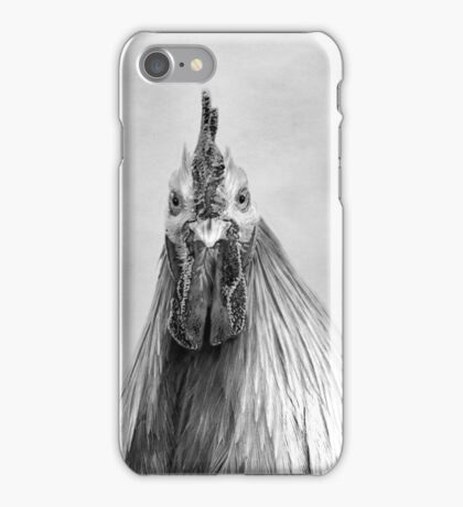 Hen Party, Gulp! Black And White  iPhone Case/Skin