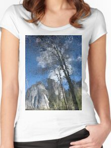 Yosemite Impression Women's Fitted Scoop T-Shirt