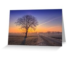 ~Frosty Morning~ Greeting Card