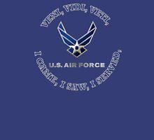 USAF LOGO VVV SHIELD Unisex T-Shirt