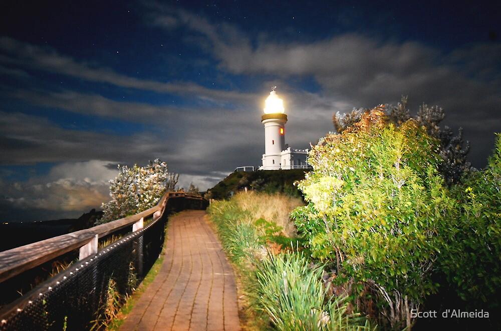 MYSTICAL LIGHTHOUSE by Scott  d'Almeida
