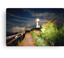 MYSTICAL LIGHTHOUSE Canvas Print