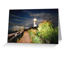 MYSTICAL LIGHTHOUSE Greeting Card