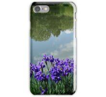 Irises at the Lake     ^ iPhone Case/Skin