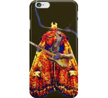 Moth Guitarists iPhone Case/Skin