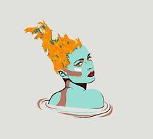 Flame headed girl Unisex T-Shirt
