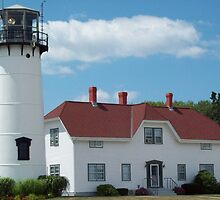 Chatham Light, Chatham, MA by Marcia Plante