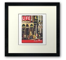 The Cover Of Life Framed Print