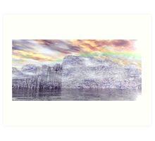 Ancient Antarctic Fortress Art Print