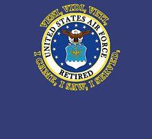 US Air Force Retired VVV Shield Unisex T-Shirt
