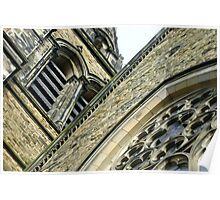 St. Brycedale Church facades Poster