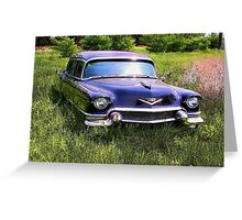 LIMO IN SPRING Greeting Card