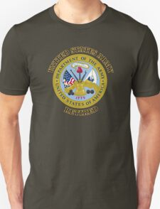 US Army Retired Seal Unisex T-Shirt
