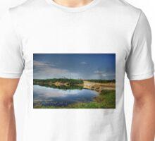 PERCY LAKE-HDR Unisex T-Shirt