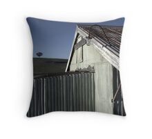 Tree on the Hill Throw Pillow