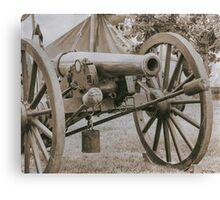 Battlefield Artillery Canvas Print