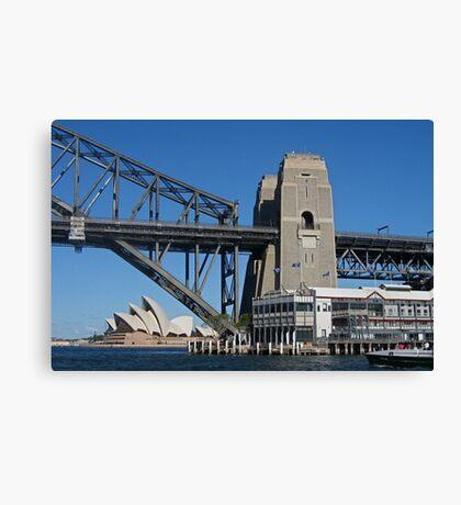 Three Sydney Icons from a Fourth Canvas Print