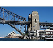 Three Sydney Icons from a Fourth Photographic Print
