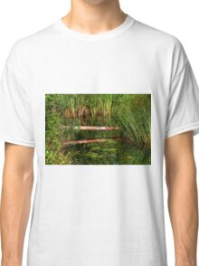 Reflections on the Fen (HDR) Classic T-Shirt