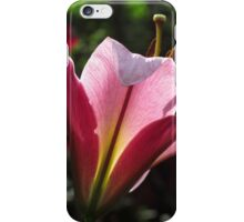 Almost Perfect  -  Space Mountain Lily, Backlit iPhone Case/Skin