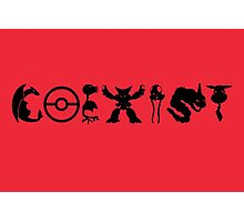 COEXIST 151 (for lighter tees) Photographic Print