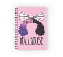 Melanie Martinez Dollhouse Design  Spiral Notebook