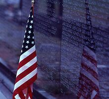 Vietnam Memorial - Washington D.C by Matsumoto