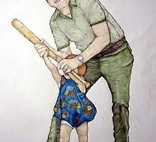 Batting Practice No 1 by eruthart