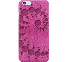 Pink Crop Circle iPhone Case/Skin
