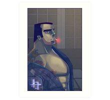 .Yakuza. Art Print