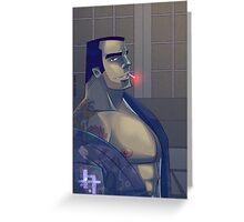 .Yakuza. Greeting Card