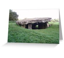 Tinkinswood Burial Chamber Greeting Card