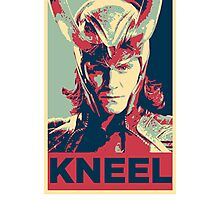 Loki - Kneel Photographic Print