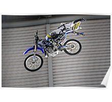 Steve Mini #1 | ShowTime FMX Yamaha Freestyle Team Rider | MotorEx Show Sydney Poster