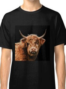 Highland Cow In Colour Classic T-Shirt
