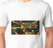 Cityscape Night Life Oil Painting Unisex T-Shirt