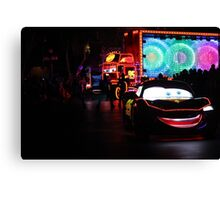 Paint the Night Parade Cars Canvas Print
