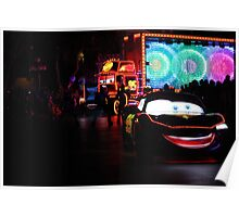 Paint the Night Parade Cars Poster