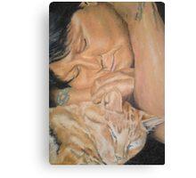 Lisa & Max Canvas Print