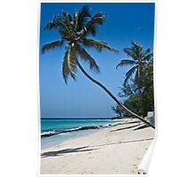Worthing Beach, Barbados. Poster
