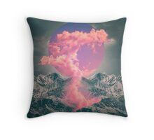 Ruptured Soul (Volcanic Clouds) Throw Pillow