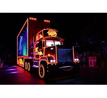 Paint the Night Parade Cars  Photographic Print