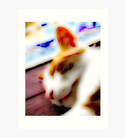 Jasper In Repose Art Print