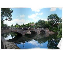 """Bridge over Calm Waters"" Poster"