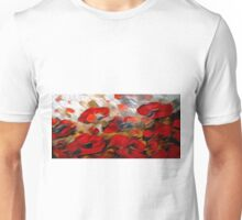 Wild Flowers Oil Painting 2 Unisex T-Shirt