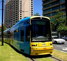 Adelaide Tram by Chris Chalk