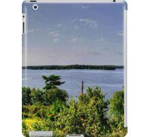 Lake of the Woods (Panorama) iPad Case/Skin