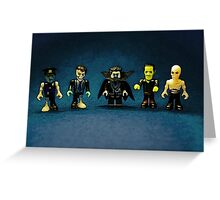 The Dark Crew! Greeting Card